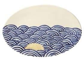 Michael Wainwright Pompeii Blu Sea Oval Platter