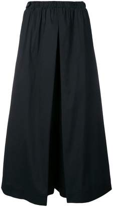 Twin-Set cropped wide leg trousers