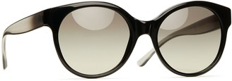 Tory Burch COLOR-BLOCKED ROUND SUNGLASSES