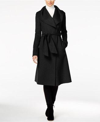 Jones New York Double-Face Wool-Blend Wrap Coat $400 thestylecure.com