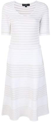 Salvatore Ferragamo striped knitted dress