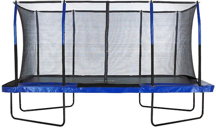 Blue & Black Rectangle Upper Bounce Mega Trampoline