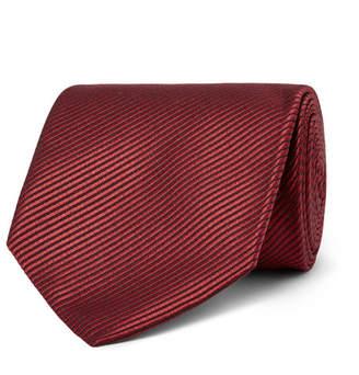 Tom Ford 8cm Striped Silk-Jacquard Tie