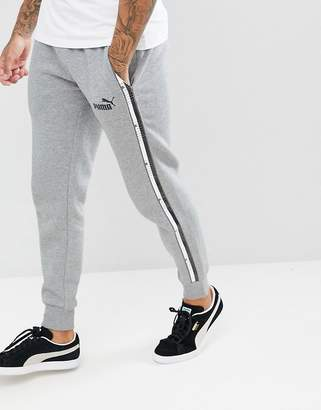 Puma Taping Joggers In Gray 85241803