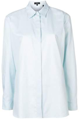 Theory long-sleeve fitted shirt