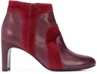 Alberto Fermani side zipped ankle boots