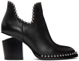 Alexander Wang Black Cut-Out Gabi Boots