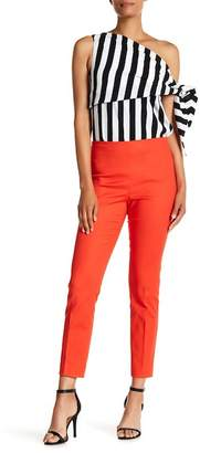 Vince Camuto Double Weave Side Zip Skinny Pants