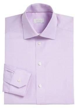 Eton Contemporary-Fit Herringbone Dress Shirt