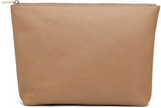 Cuyana Large Leather Zipper Pouch