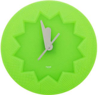 Kartell Crystal Palace Wall Clock - Green