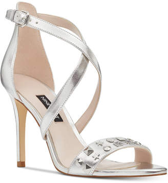 Nine West Maziany Studded Dress Sandals Women's Shoes