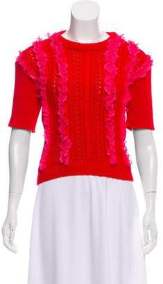 Philosophy di Lorenzo Serafini Short Sleeve Knit Sweater w/ Tags