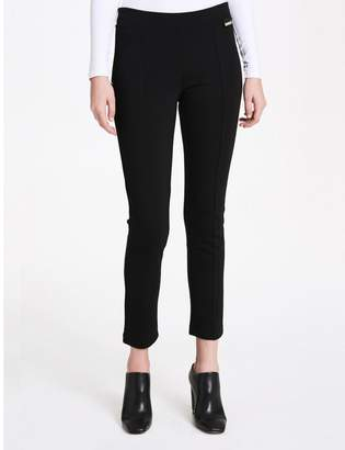 Calvin Klein piped stretch leggings