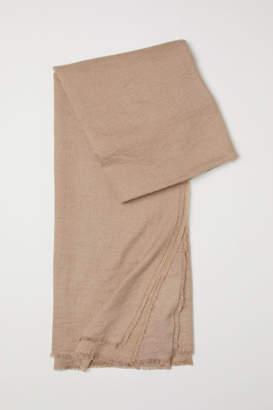 H&M Woven Scarf - Beige