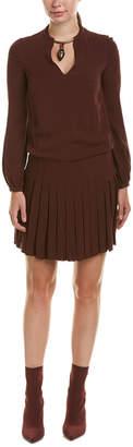 Valentino Silk Shift Dress