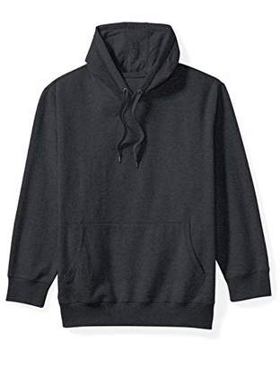Amazon Essentials Men's Big and Tall Hooded Fleece Sweatshirt fit by DXL