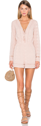 House of Harlow x REVOLVE Mila Long Sleeve Romper $258 thestylecure.com