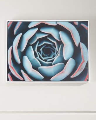 """Close-Up"" Photography Print on Canvas Framed Handmade Wall Art"