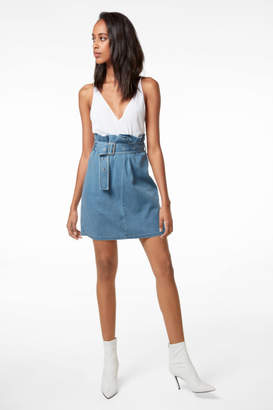 J Brand Tranquil Pleat-Front Skirt In Heavenly