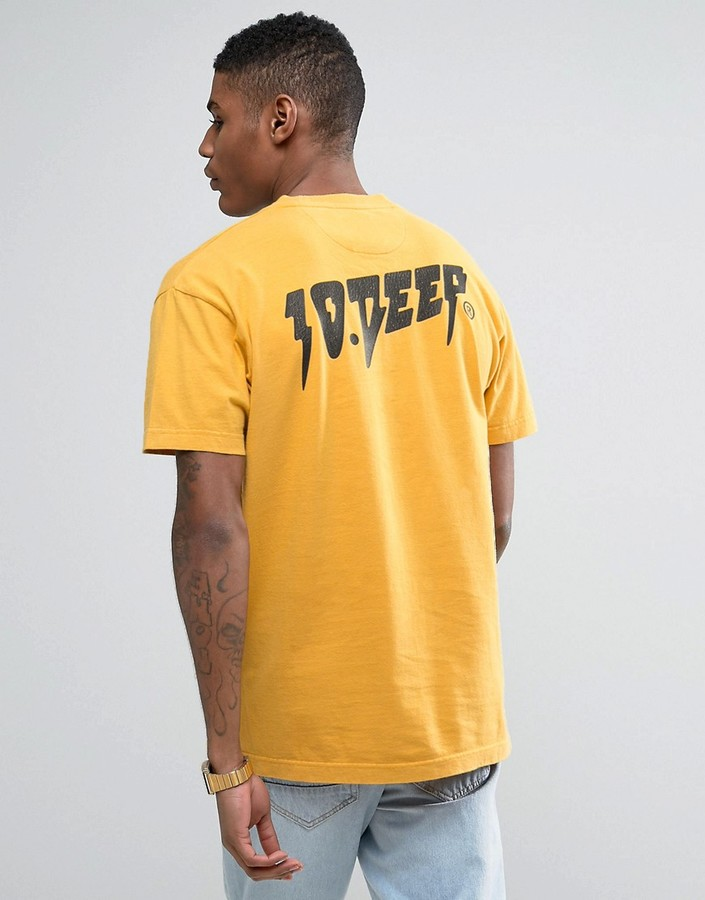 10.Deep 10 Deep T-Shirt With Back Print