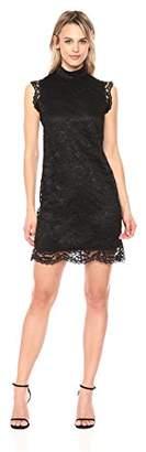 Nicole Miller New York Women's lace Sleeveless Daytime Dress