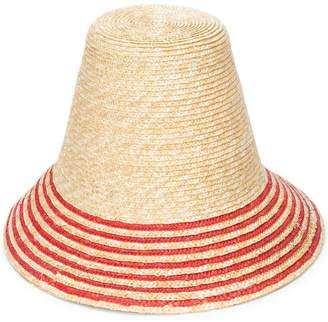 Cult Gaia striped hat