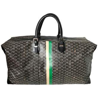 Goyard Boeing cloth weekend bag