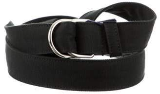 Prada Woven D-Ring Belt w/ Tags black Woven D-Ring Belt w/ Tags