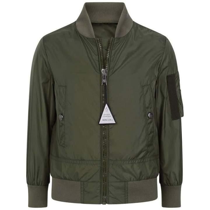 MonclerKhaki Guillac Bomber Jacket