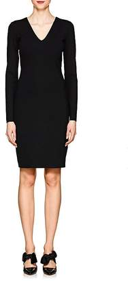 The Row Women's Betiana Neoprene-Jersey V-Neck Dress