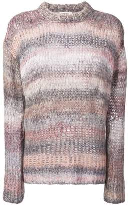 Acne Studios rainbow long sweater