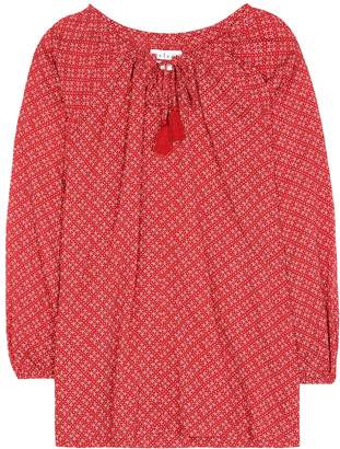 Velvet Hollie printed cotton top