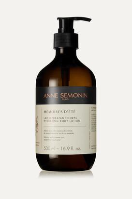 Anne Semonin - Mémoires D'eté Hydrating Body Lotion, 500ml - Colorless