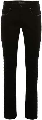 Versace Studded Jeans