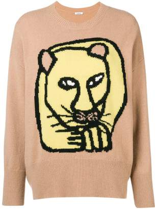 P.A.R.O.S.H. lion printed sweater