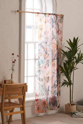 Deny Designs Burcu Korkmazyurek For Deny Exotic Garden Sheer Window Panel
