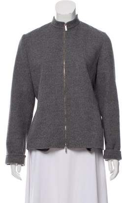Max Mara 'S Virgin Wool-Blend Jacket
