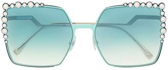 Fendi Eyewear Can Eye Runwat sunglasses