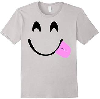 Emoji Shirt Halloween Costume Emoji Tongue Out Goofy