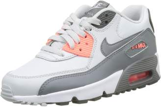 Nike 90 LTR Pure Platinum/Cool Grey (Big Kid)
