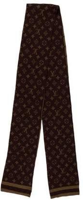 Louis Vuitton Monogram Cashmere Silk Scarf