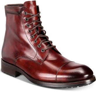 Massimo Emporio Men's Cap-Toe Boots