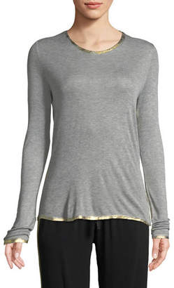 Zadig & Voltaire Willy Foil-Detail Top