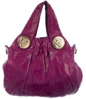 Gucci Small Leather Hysteria Bag