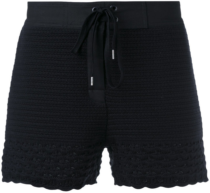 RED ValentinoRed Valentino knitted shorts