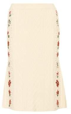 Altuzarra Wool-blend skirt