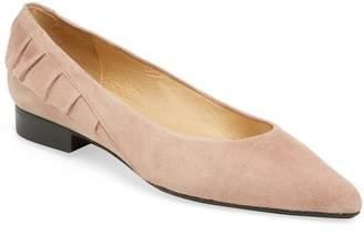 Ava & Aiden Women's Ruffle Slip-On Ballet Flat