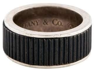 Tiffany & Co. Ribbed Titanium Ring