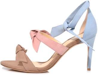 Alexandre Birman Lolita Sandal in Cameo/Peach/Crystal Blue